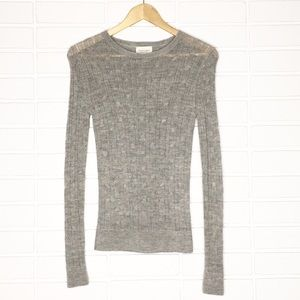 Banana Republic | Grey Extra Fine Alpaca Sweater